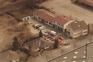 Luftbild Autohaus Buchholz 1984